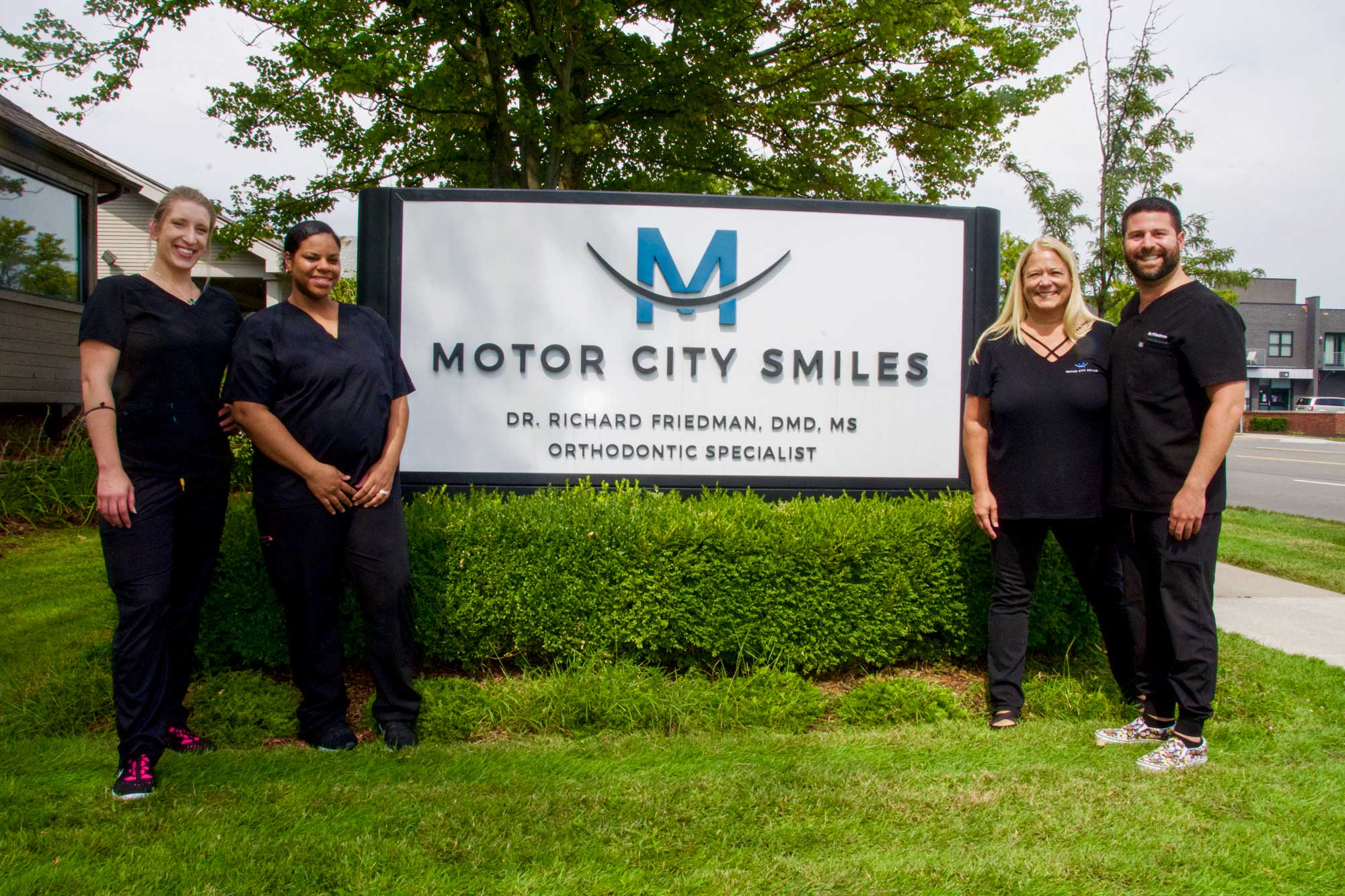 Motor City Smiles staff